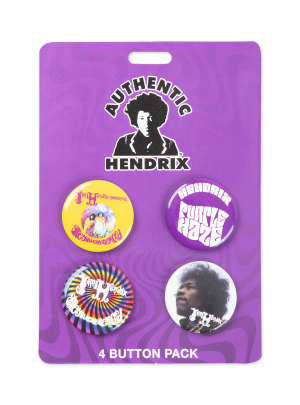 Are Your Experienced 4-Button Pack
