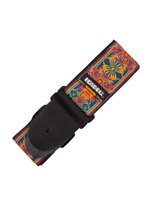Hendrix Poster Guitar Strap