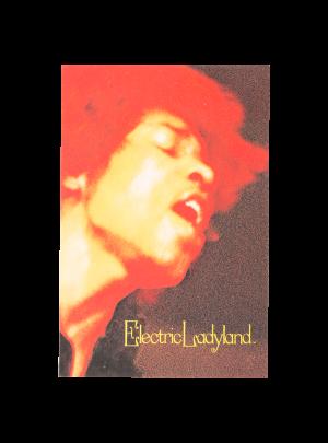 Hendrix Electric Ladyland Postcard