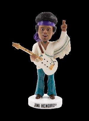 """Jimi Hendrix 8"""" Bobblehead"""