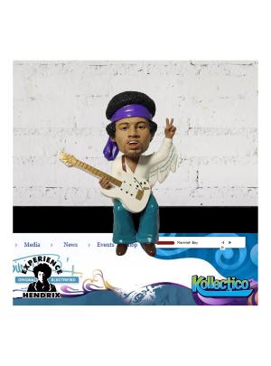 """Jimi Hendrix 4"""" Bobblehead Buddy"""
