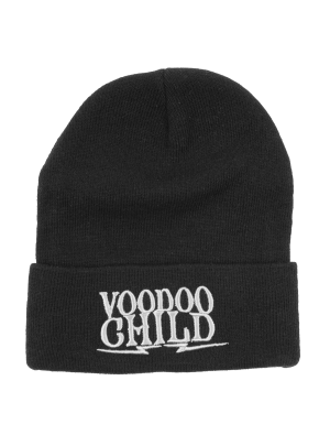 Voodoo Child Black Beanie