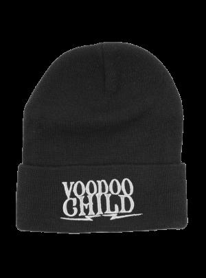 Voodoo Child Black Beanie