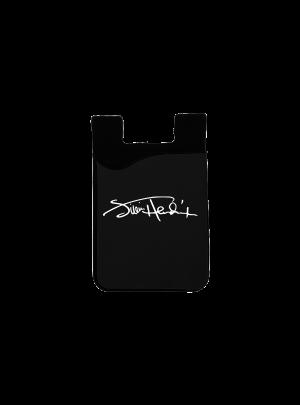 Jimi Hendrix Signature Black Phone Card Holder