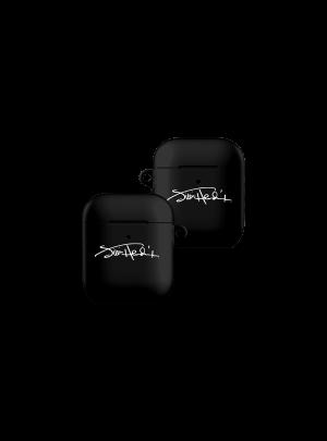 Jimi Hendrix Signature Black AirPods Case
