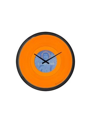 Axis: Bold As Love Orange Wall Clock