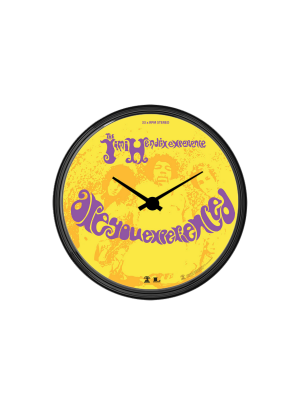 Are You Experienced Vinyl Wall Clock