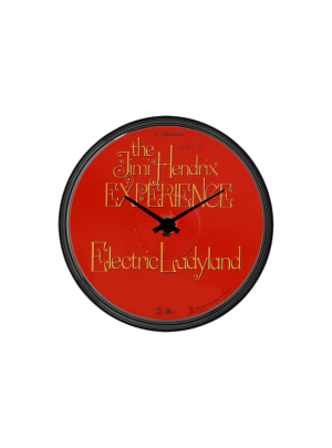 Electric Ladyland Vinyl Wall Clock