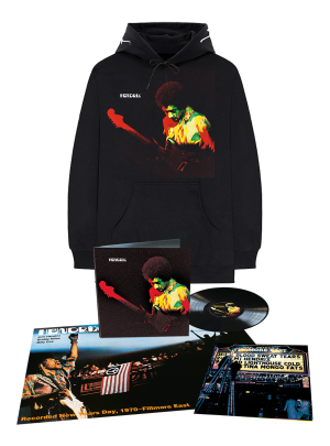 Band of Gypsys Hoodie + Anniversary Analog LP