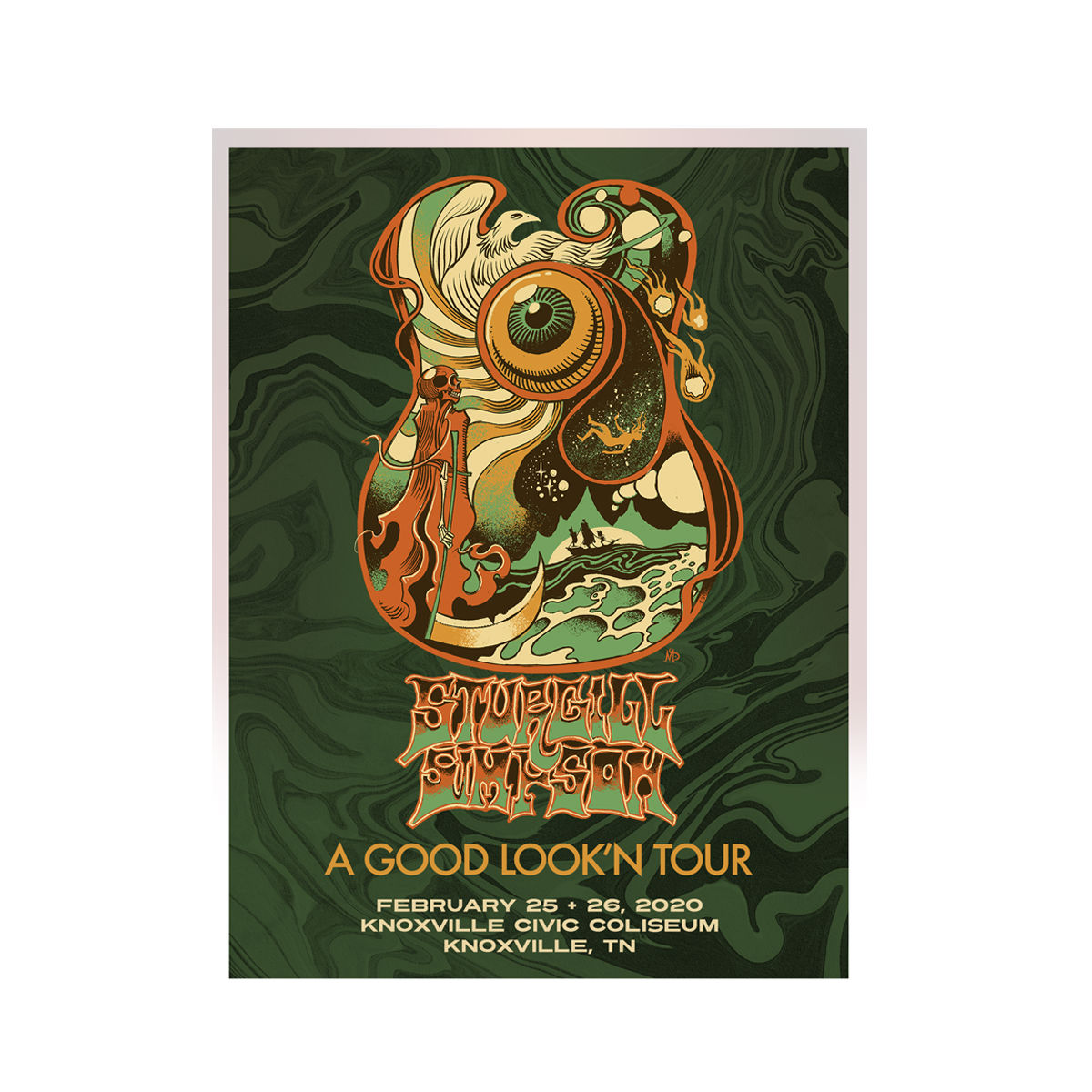 Knoxville Lithograph