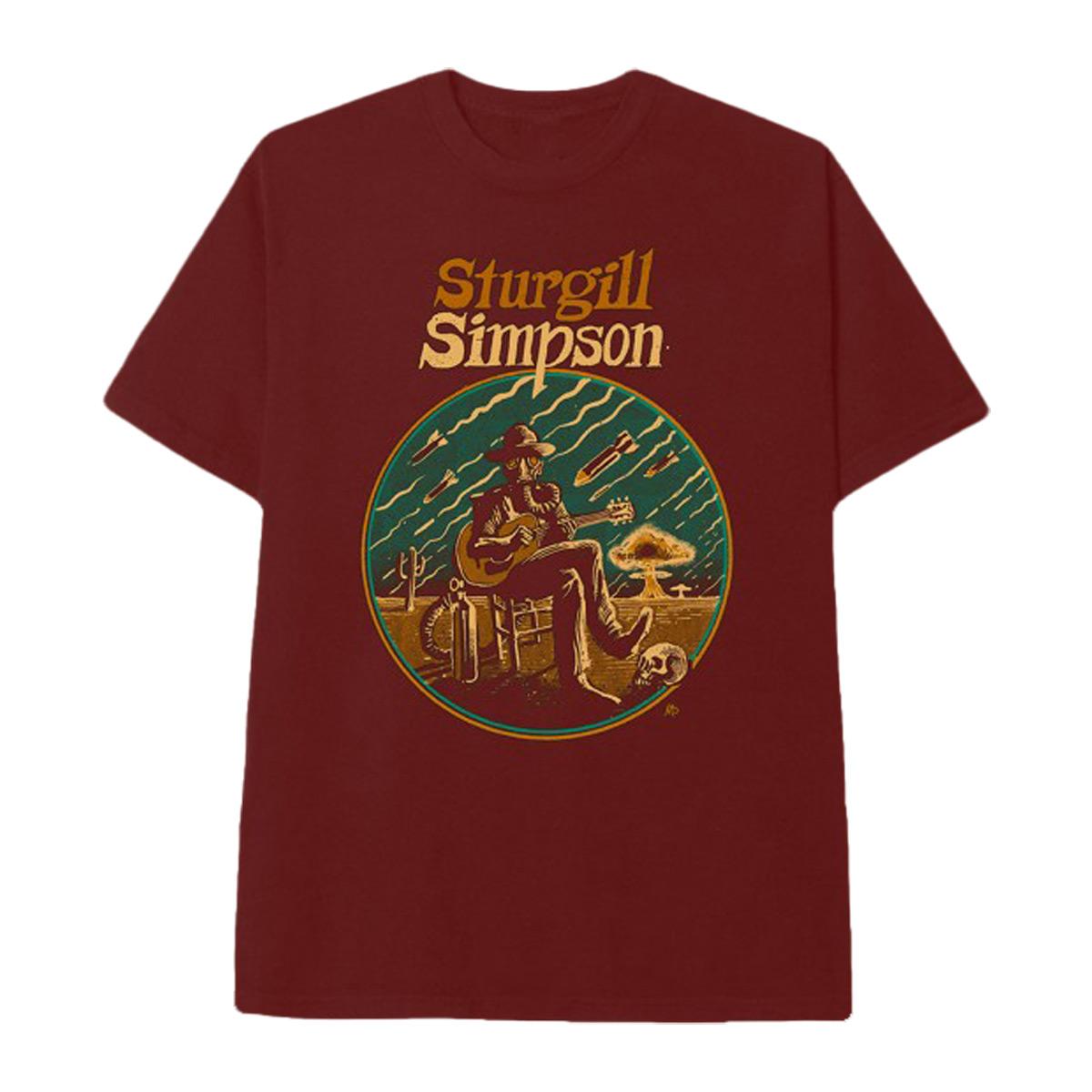 Sturgill Simpson Illustration Dateback T-shirt