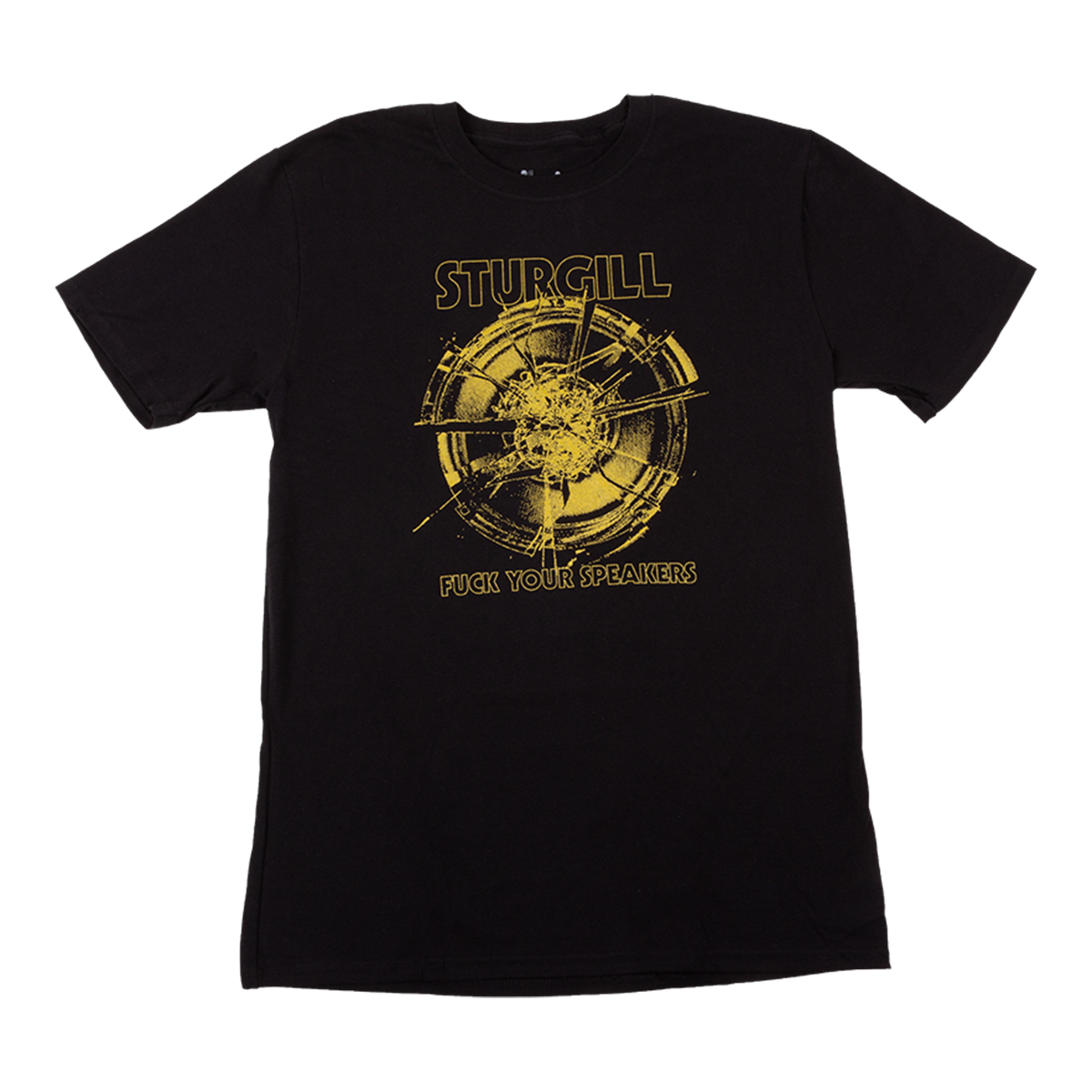 F*ck Your Speakers T-shirt Yellow