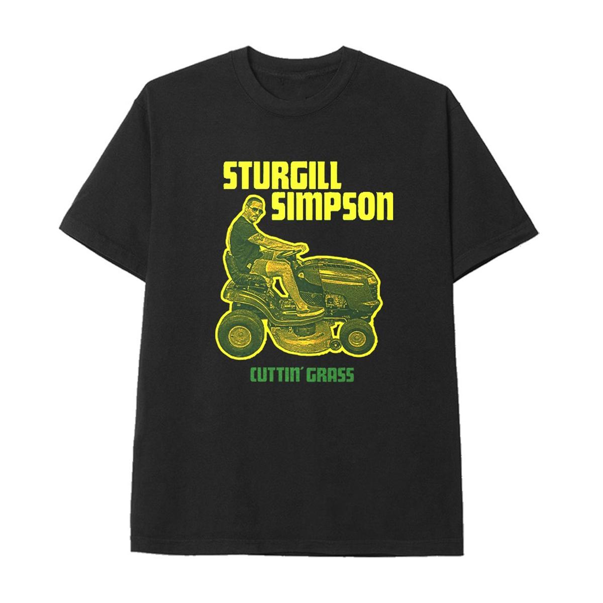 Cuttin' Grass Black T-shirt