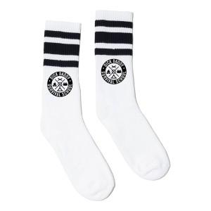 DDSS White Tube Socks