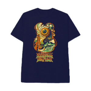 Asteroid Guitar Dateback T-shirt