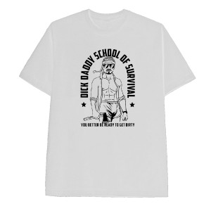 Be Ready to Get Dirty White T-Shirt