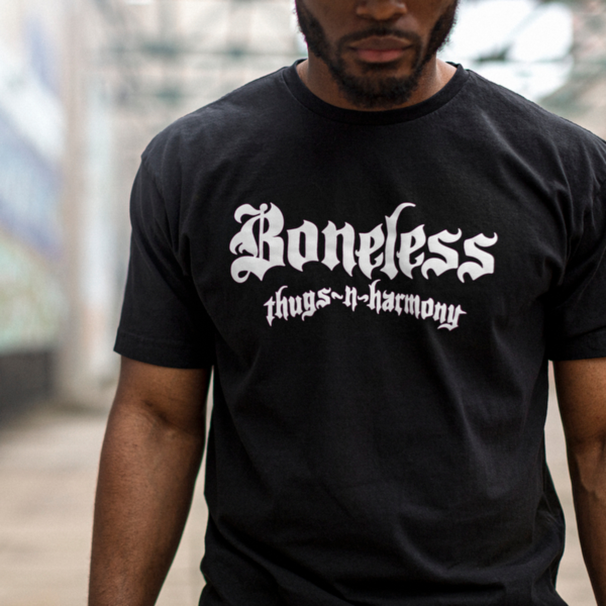 Classic Black Logo T-Shirt