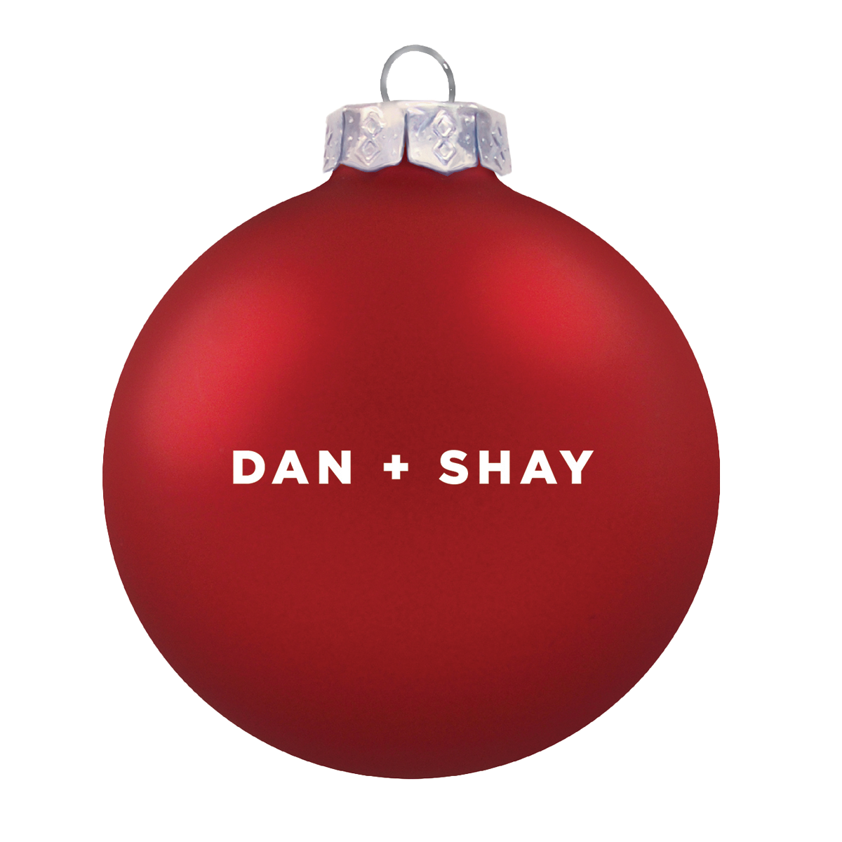 Red Logo Ornament