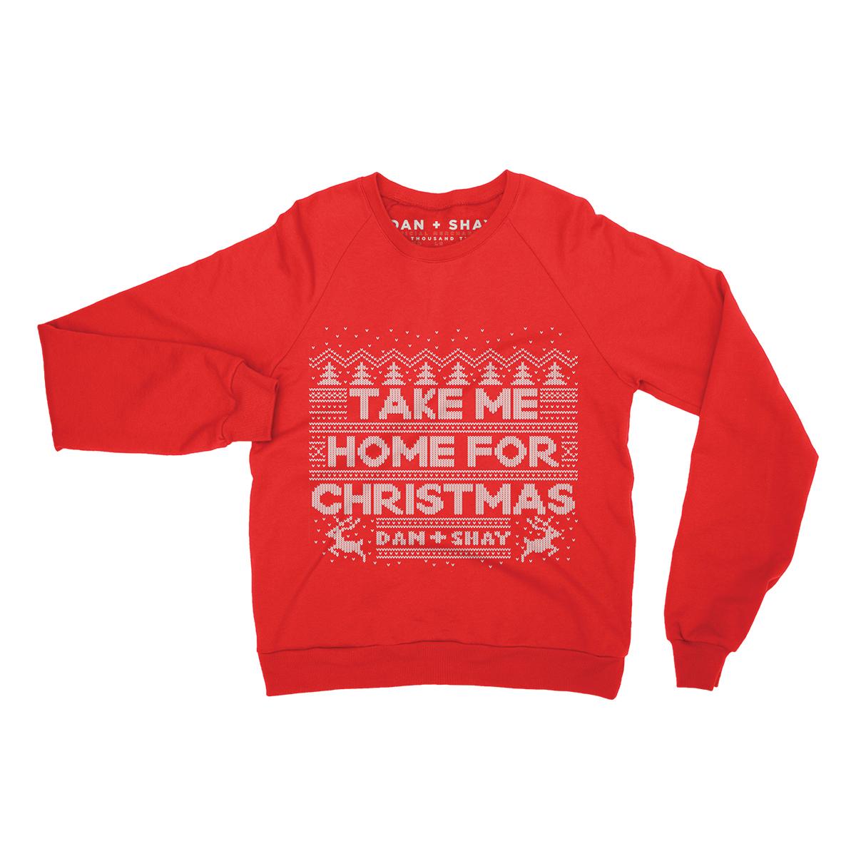 Take Me Home For Christmas Crewneck
