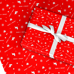 Holiday Wrapping Paper Set