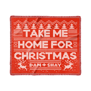 Take Me Home For Christmas Blanket