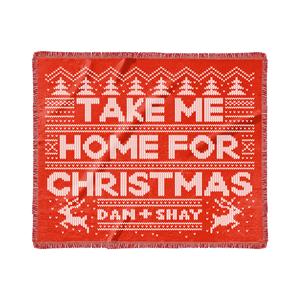 Take Me Home For Christmas Blanket