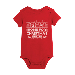 Take Me Home For Christmas Onesie