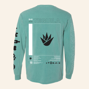 Tequila Longsleeve Pocket T-shirt