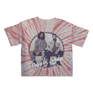 Cropped Tie Dye Girls T-shirt