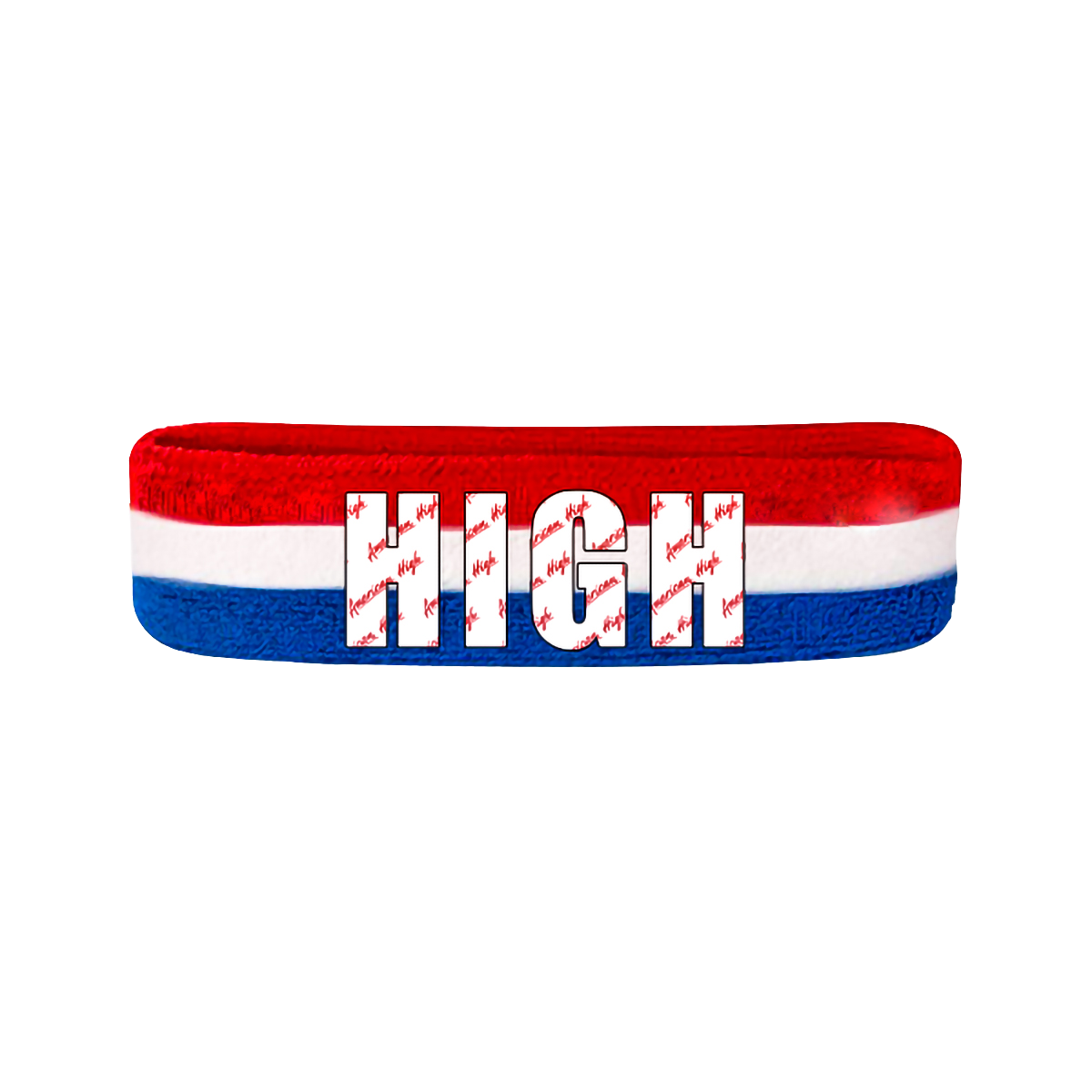 Stripe High Logo Headband