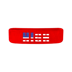 Red High Logo Headband