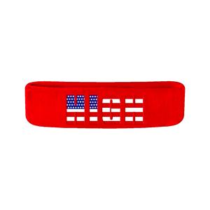 Red High Logo Headband