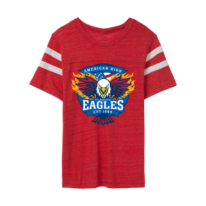 American High Eagles Football T-Shirt