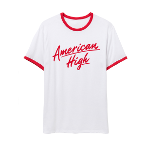 The American High Ringer Tee