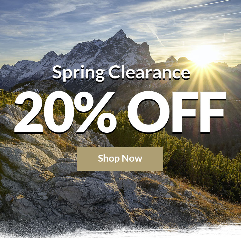 Spring Clearance Sale - Up to 25% Off - Shop Now