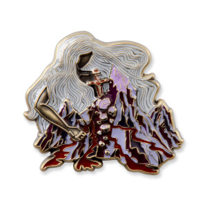 Mountain Pin - Red/White Variant