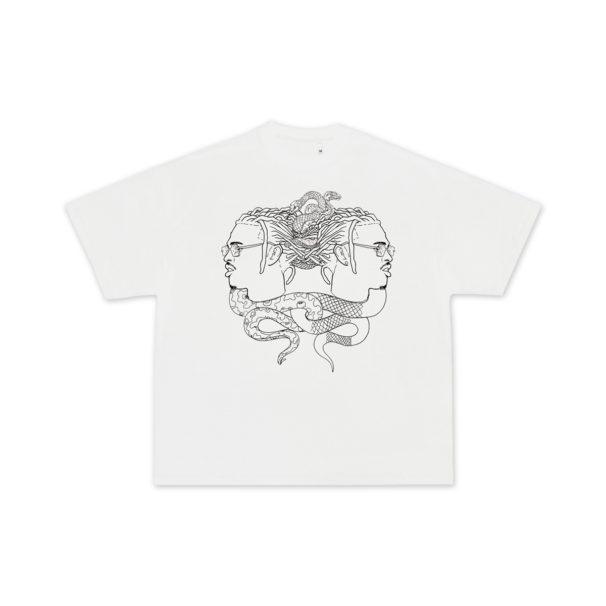 Gemini Snake T-Shirt + Wunna Digital Download