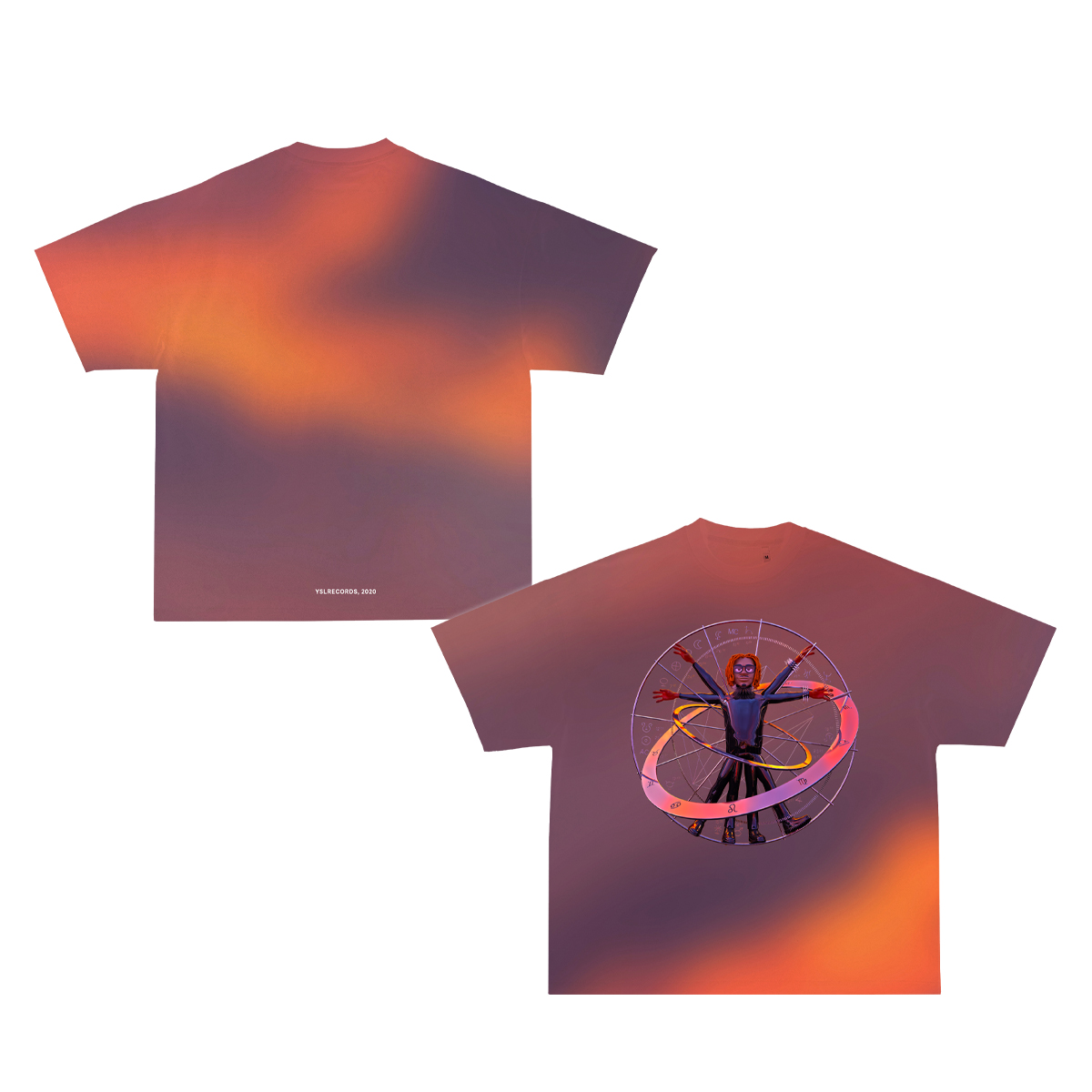 Ombre Birth Chart T-Shirt + Wunna Digital Download