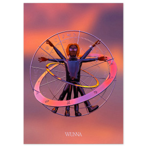 SIGNED Birth Chart Poster