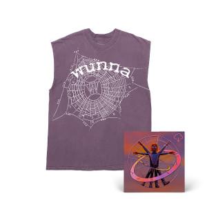 King Spider Zodiac 13 Cutoff Shirt + Wunna Digital Download