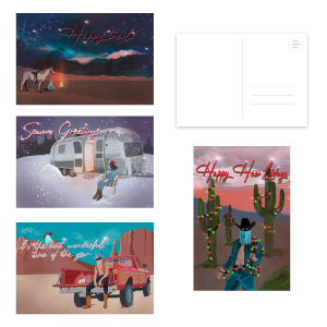 Holiday Postcard Set