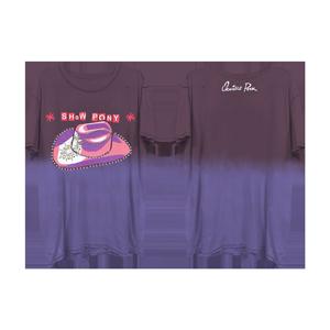 Show Pony Purple Gradient Tee