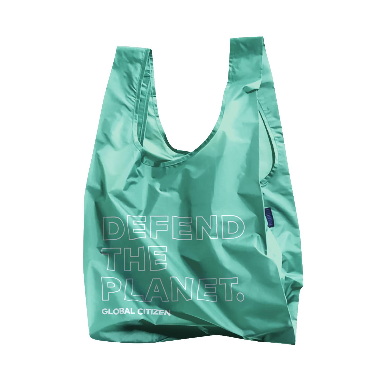 Global Citizen Live Foldable Baggu Shopping Bag