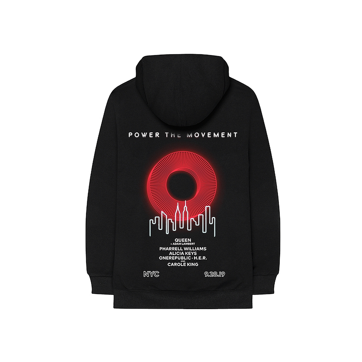 "Global Citizen Festival ""O"" Lineup Hoodie"