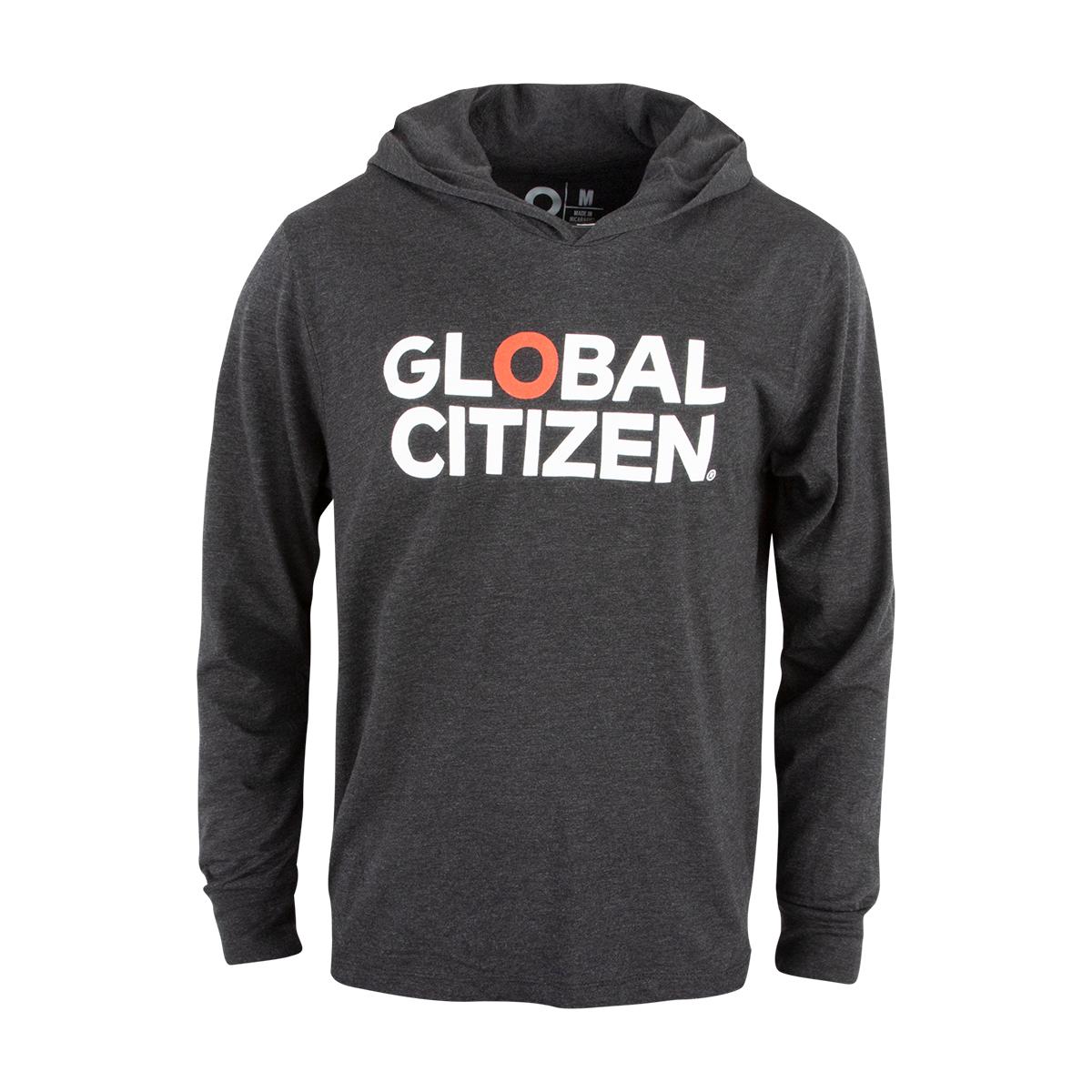 Global Citizen Hooded Longsleeve T-Shirt