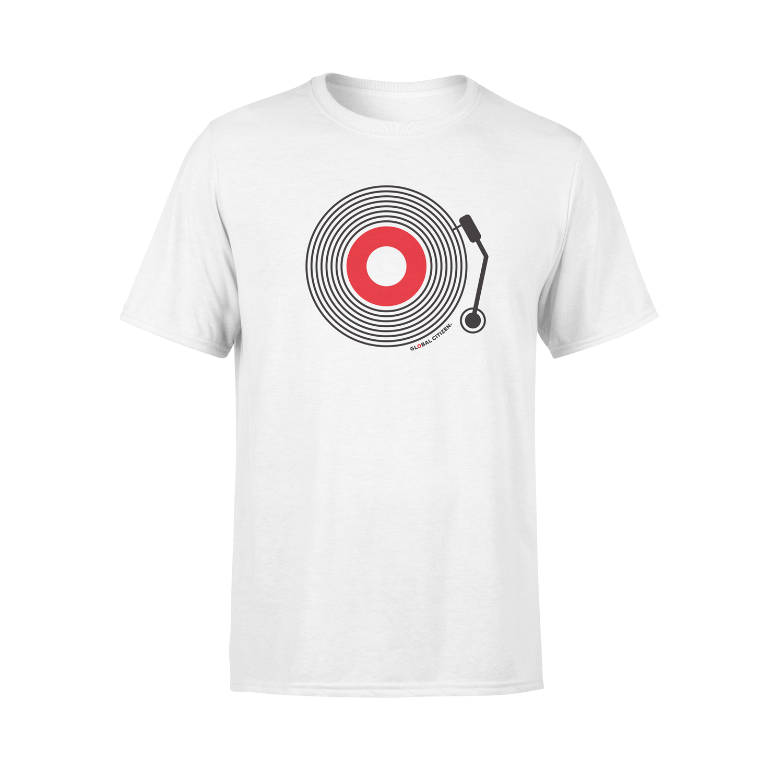 Global Citizen Turntable T-shirt