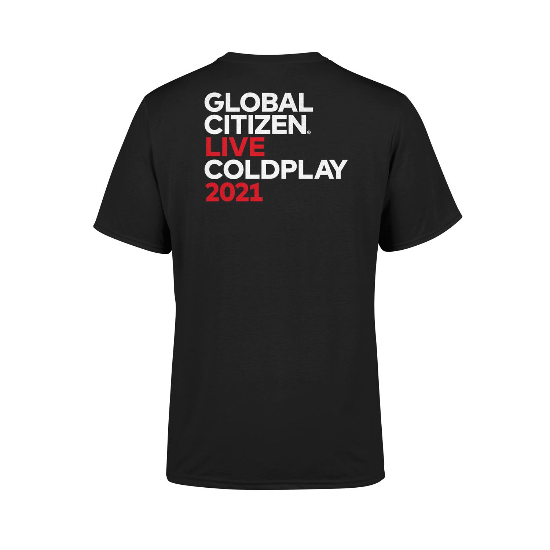 Coldplay x Global Citizen Live T-shirt