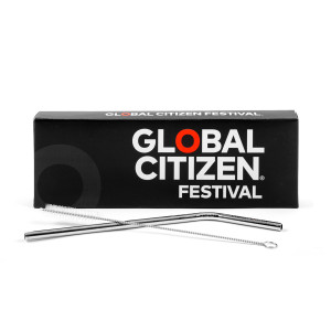 Global Citizen Metal Straw