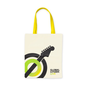 Global Citizen Live Tote Bag