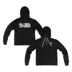 Global Citizen Social Goods Zip Hoodie